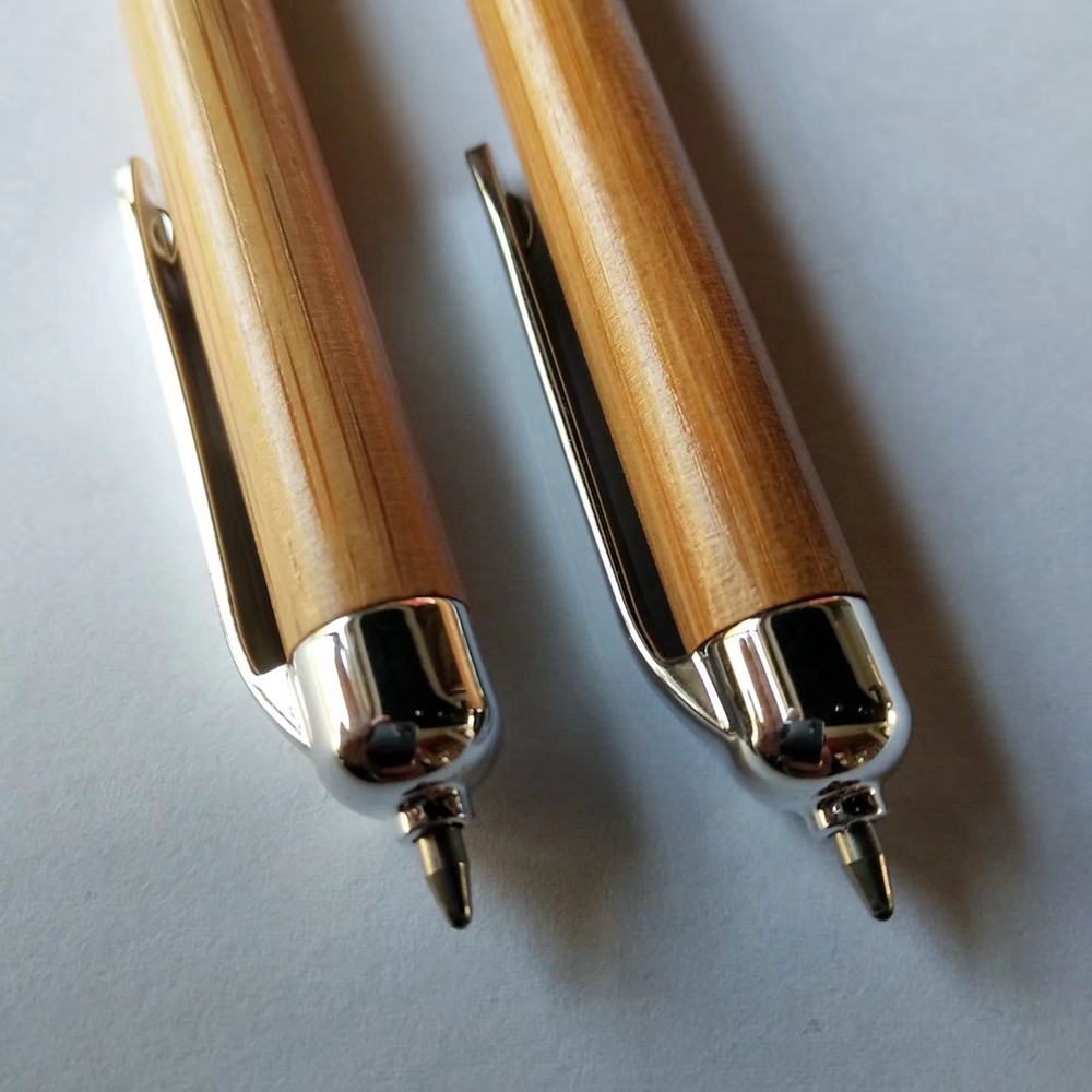 Recycle Bamboo Touch Ball Pen