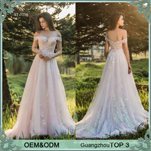 Fairy style pink evening dresses vestidos de quinceanera dresses ball gown