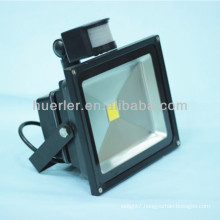 High quality high power ip65 waterproof outdoor 30w led pir light 30w outdoor
