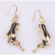 Neue Ankunfts-Art- und Weiseleopard-Ohrring-hängende Ohrringe FE18