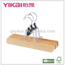 natural color wooden trousers hanger