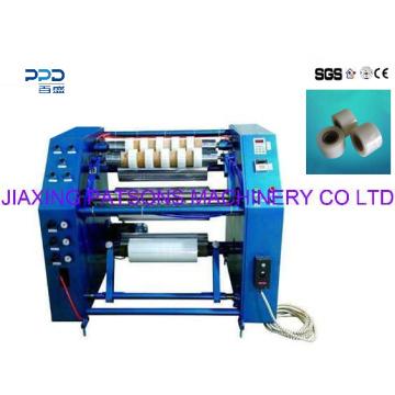 Máquina rebobinadora de corte longitudinal de alta calidad de película retráctil