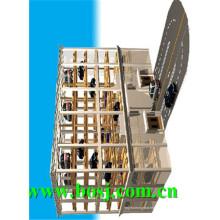 Placa inferior galvanizada Máquina de rolo de garagem estéreo Fornecedor Coreia