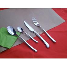Cuisinière en acier inoxydable 18/8 Couteaux à fourche Vaisselle en vaisselle Set de coutellerie