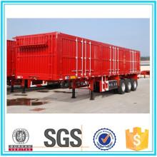 Semirremolque furgón de 3 ejes Cimc Van Box Semi-remolque