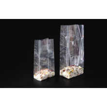 Opp Clear Plastic Square Bottom Bag For Candy And Cookies