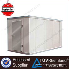 Guangzhou Stainless Steel Build Storage Freezer sala fria usada