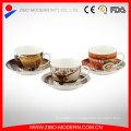 Лучшие фарфоровые чашки эспрессо и блюдца