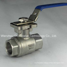 Stainless Steel 2PC Ball Valve with Locking Handle