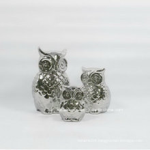 Electroplating Silver Little Ceramic Home Decoration (set)