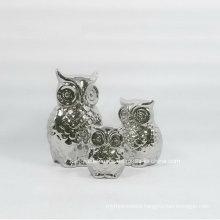 Electroplating Silver Little Ceramic Home Decoration (set)