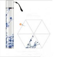 Drei Falten Fall GIF Regenschirm (YS-3FB008A)