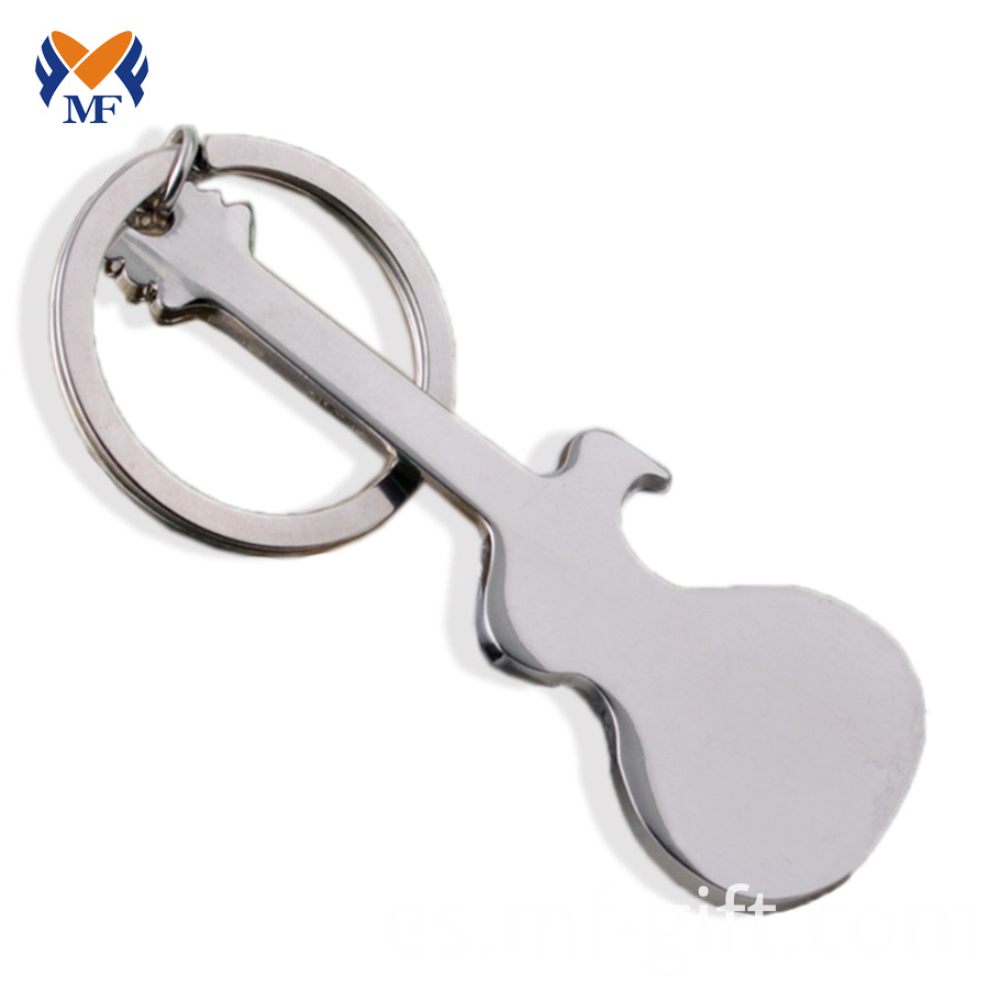 Guitar Bottle Opener Keyring