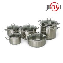 Кастрюля для посуды из высококачественной нержавеющей стали