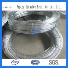 DIP caliente de la fábrica de China y alambre galvanizado de buena calidad