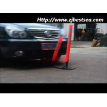 Round Base Flexible Polypropylene SpringBack Delineator Post Traffic Control Equipment