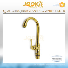 2017 deck mounted gold kitchen faucet mixer