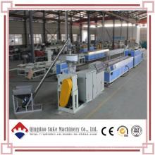Ligne de production de machine d'extrusion de carte WPC avec CE et ISO9001