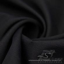 Resistente al agua y al aire libre ropa deportiva al aire libre chaqueta tejida Tejido Pongee piel de melocotón tela Jacquard 100% tela de poliéster (63043)