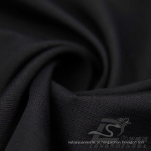 Resistente à água e ao ar livre Sportswear Down Jacket Tecido Pongee pele de pêssego Plaid Jacquard 100% tecido de poliéster (63043)