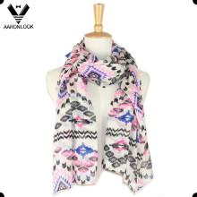 2016 Fashion Custom Impresión primavera y verano bufanda barata