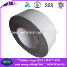 cinta de envoltura butílica de la protección contra la corrosión de la tubería de gas de acero