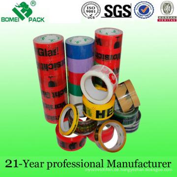 Qualitäts-buntes Drucken OPP-klebendes Verpackungs-Band (KD-011)