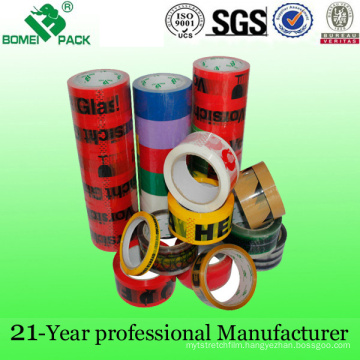 High Quality Colorful Printing OPP Adhesive Packing Tape (KD-011)