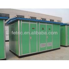 Estación transformadora de energía eléctrica