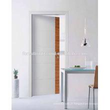 Preço nivelado interior por atacado da porta, porta interior de madeira