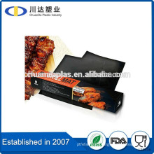 Free Sample bbq grill mat set of 2 for gas charcoal electric Non-stick Mat for Barbeque                                                                         Quality Choice