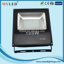 Neues modernes Design ultra dünnes 100W führte Flutlicht IP66 Aluminium