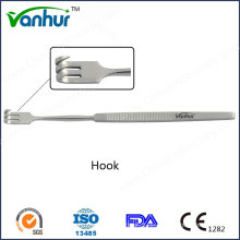 Chirurgische Instrumente Bronchoskopische Haken
