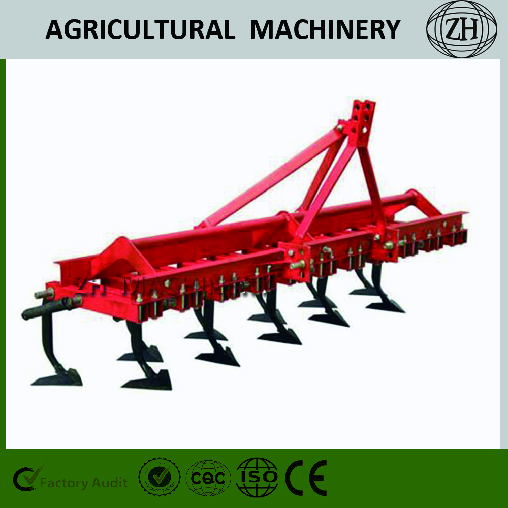 Tractor Mounted Red Rotary Tiller Cultivator