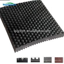 hammer top fabric reinforced rubber cow mat