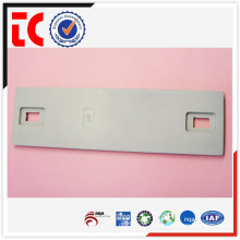 2015 Hot sales White painted Aluminum die cast equipment plate / Die cast OEM in China