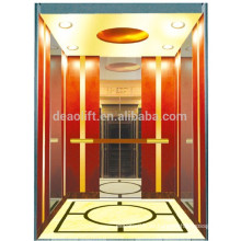 Hochwertige Villa Aufzug mit Rose goldenen Kabine