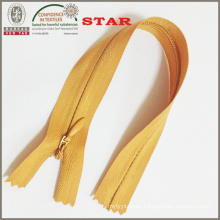 (#3) Nylon Invisible Close End Zipper