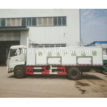 4x2 Dongfeng live fish transport tanker truck/ Fresh Seafood Live Fish Transport Cooling Truck Refrigerator Truck
