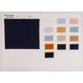 Lavadora Tratamiento de arrugas Slub Textil de lino elástico Textil de algodón / Spandex
