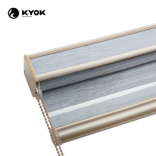 KYOK custom made synthetic roll up outdoor bamboo blinds