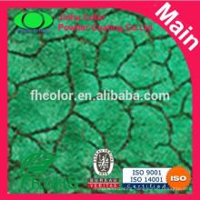 Tortoise skin powder paints crackle powder coating paints