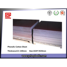 Brown 3025 Phenolic Cotton Fabric Laminate Textolite Plate