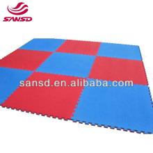 60x60 Wholesale blue and red color interlocking baby eva foam mat