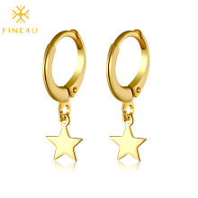 Best selling new simple  high-end fashion star pendant earrings for men and women