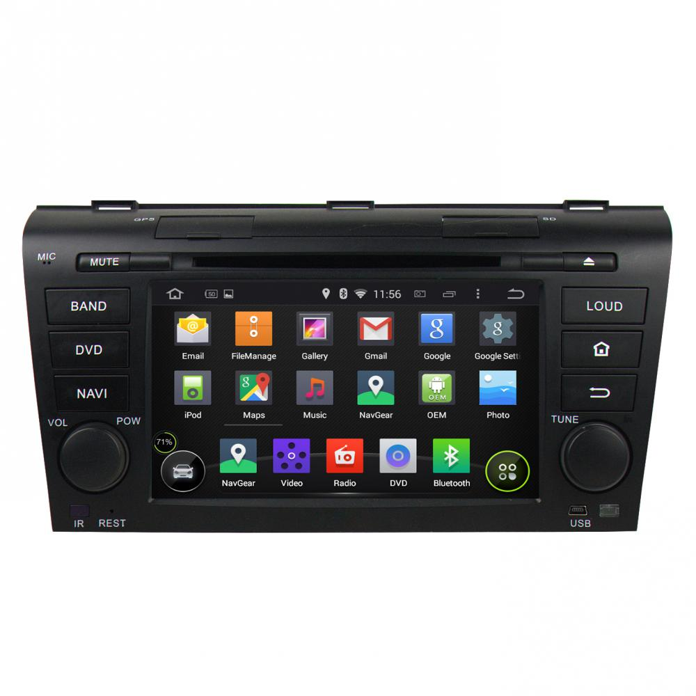 MAZDA 3 2004-2009 Car dvd player with gps