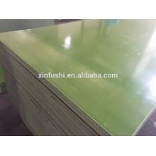 La película plástica verde hizo frente a uso de la madera contrachapada 20-30 veces