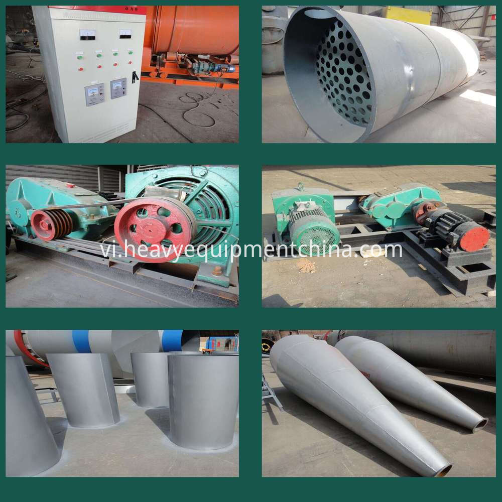 Coconut Fiber Dryer Machine