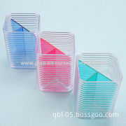 Cute Plastic Office Desk Pen Stand without Office Accessories