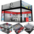 Detian Display custom two storeys exhibition booth two level stand for trade show from shanghai